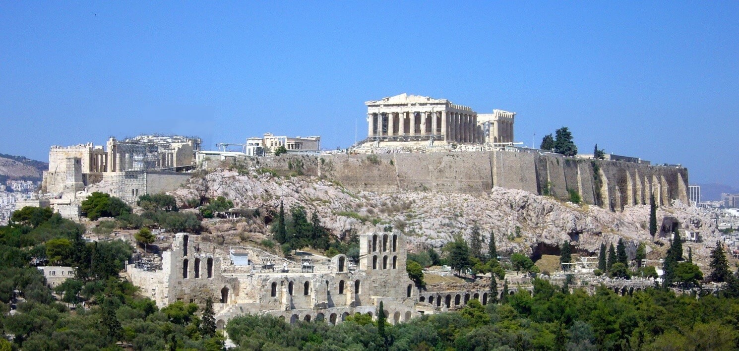 """""""Athens, the eye of Greece, mother of arts / And eloquence."""""""